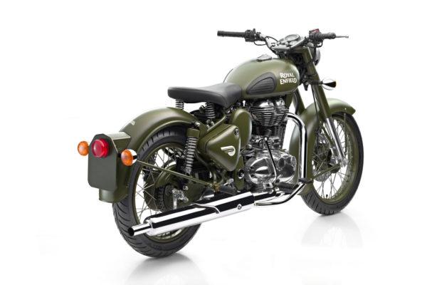 Royal Enfield World Motorrad Classic EFI 500 Battle Green Motorrad