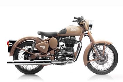 Royal Enfield World Motorrad EFI 500 Desert Storm Motorrad